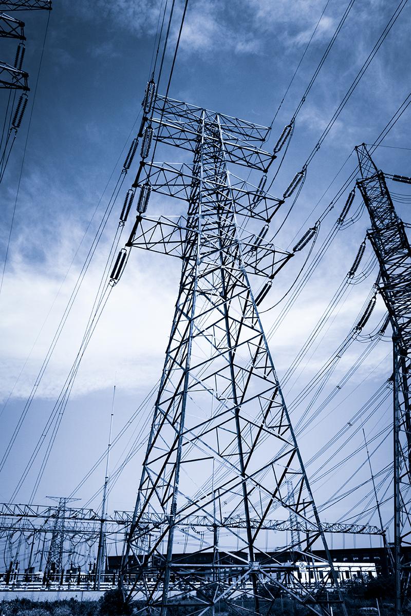 Torre electrica industria electricidad