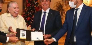 Senor Abravanel recebeu grande homenagem do Presidente Jair Bolsonaro