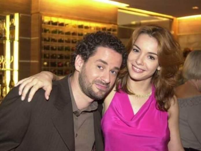 Marcos (Dan Stulbach) e Dóris (Regiane Alves) em 'Mulheres Apaixonadas' (Canal Viva)