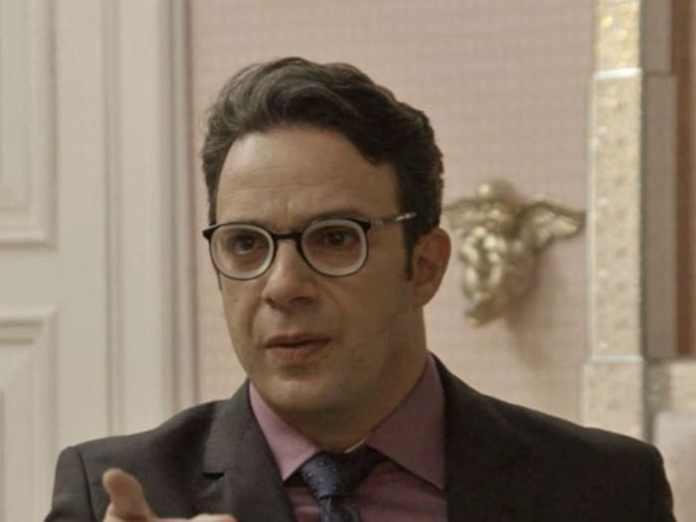 Marcelo Médici interpretando Agilson em 'Haja Coração' (Globo)