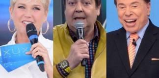 Xuxa , Faustão e Silvio Santos