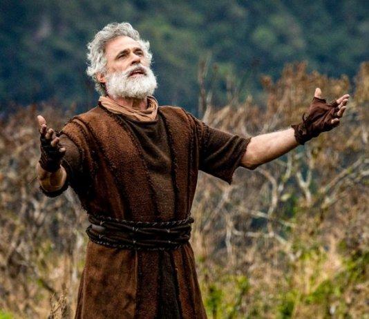 Oscar Magrini como Noé em 'Gênesis' (Record)