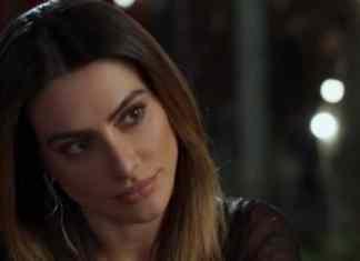 Cleo interpretando Tamara em 'Haja Coração' (Globo)