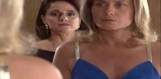 Alma (Marieta Severo) e Helena (Vera Fischer) em 'Laços de Família' (Globo)