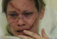 Karen Junqueira interpretando Jéssica em 'Haja Coração' (Globo)