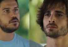 Zeca (Marco Pigossi) e Ruy (Fiuk) em 'A Força do Querer' (Globo)