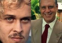 Alexandre (Guilherme Fontes) e Otávio (Antônio Fagundes) em 'A Viagem' (Canal Viva)