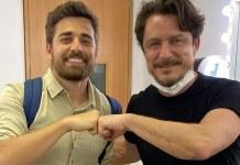 Miguel Coelho e Petrônio Gontijo