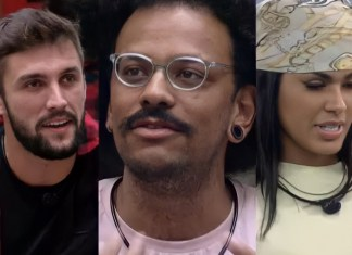 Arthur, João Luiz e Pocah