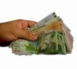 Datorita primelor de sarbatori salariul mediu net a crescut cu 7,6%