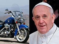 Papa Francis isi vinde motocicleta Harley-Davidson