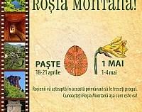 """Vizitați Roșia Montană!"""" – excursii de primăvară cu ocazia Paștelui și zilei de 1 Mai"""