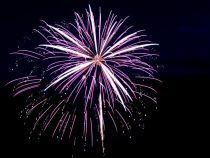 Un barbat a folosit cenusa sotiei sale pentru focuri de artificii