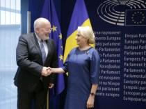 Întrevederea prim-ministrului României, Viorica Dăncilă, cu prim-vicepreședintele Comisiei Europene, Frans Timmermans