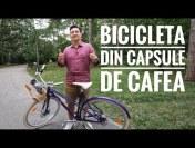 BICICLETA RECICLATĂ DIN CAPSULE DE CAFEA! – Velosophy+Nespresso=RE:CYCLE