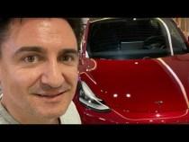 LIVE – Dăm o Tesla Model 3 la București Mall