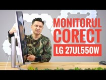 Monitor 4K, la preț corect! – LG 27UL550W