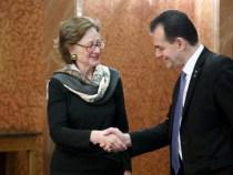 Întâlnirea premierului Ludovic Orban cu ambasadorul Republicii Austria în România, doamna Isabel Rauscher