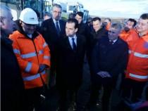 Vizita prim-ministrului Ludovic Orban la șantierul centurii de ocolire Balș