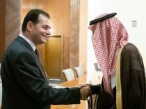 Întrevederea premierului Ludovic Orban cu ministrul de stat pentru Afaceri Externe al Regatului Arabiei Saudite, Adel bin Ahmed Al-Jubeir