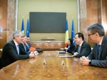 Întrevederea premierului Ludovic Orban cu delegația OMV Petrom