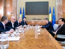 Întâlnirea premierului Ludovic Orban cu reprezentanții Blocului Național Sindical