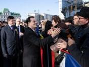 Declaraţii de presă susţinute de premierul Ludovic Orban la Iaşi