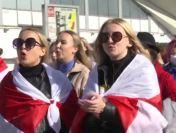 Belarus: poliția reține sute de femei la un protest