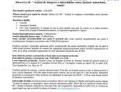 GAL Tara Gugulanilor anunță prelungirea sesiunii de depunere a Cererilor de Finanțare până în data de 29.09.2020, pentru M6.6/6B-Acțiuni de integrare a minorităților etnice(inclusiv minoritatea romă)