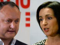 Alegeri Moldova. Maia Sandu și Igor Dodon își dispută președinția