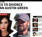 Megan Fox divorțează de Brian Austin Green