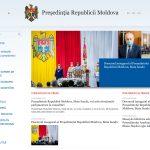 Președinția Republicii Moldova schimbă online limba moldovenească în limba română
