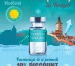BRAȘOV: Două organizații profesionale susțin vaccinarea anticovid cu 10% discount pentru cei vaccinați