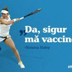 Simona Halep se va vaccina anti-Covid