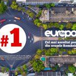 Programele Europa FM, cele mai ascultate în orașele din România, în rândul stațiilor private