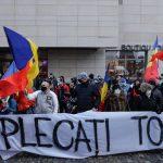 Protest al simpatizanților AUR, la Ministerul Sănătății