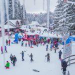 Strat de zăpadă de până la 90cm în Poiana Brașov – Masivul Postăvarul