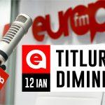 12 ianuarie 2021: Titlurile dimineții, la Europa FM
