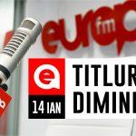 14 ianuarie 2021: Titlurile dimineții, la Europa FM