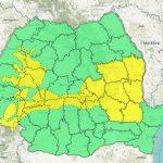 Meteorologii transmit atenționări cod galben de ninsori, vânt și polei