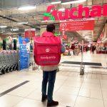 Foodpanda va livra produse din hipermarketurile Auchan