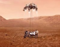 Moment istoric: Roverul Perseverance a ajuns pe Marte