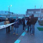 Teleorman: Proteste la combinatul Donau Chem din Turnu Măgurele | FOTO