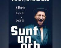 """De Ziua Femeii, Horațiu Mălăele susţine două reprezentaţii cu recitalul """"Sunt un orb"""""""