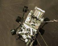 NASA a prezentat primul video cu amartizarea roverului Perseverance   VIDEO