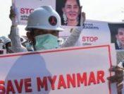 MYANMAR: Contestatarii regimului militar fac apel la o grevă generală