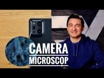 Camera microscopică 60X – OPPO Find X3 Pro