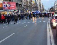Jandarmeria nu va interveni pentru îndepărtarea protestatarilor