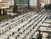 Paștele în pandemie | Testul Bisericii Ortodoxe Române: distanțarea socială a credincioșilor