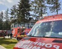 Incendiu la Secţia de Psihiatrie a Spitalului Judeţean de Urgenţă Slatina. A fost activat Planul Roșu de Intervenție | VIDEO